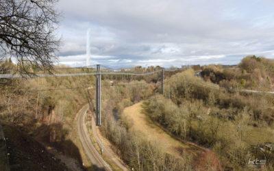 Stadt: Planverfahren Hängebrücke